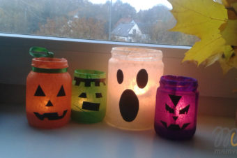 Jak zrobić prosty świecznik ze słoika?- ozdoba na Halloween