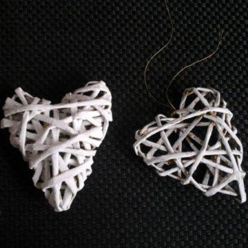 Serca z wikliny papierowej – fotorelacja z warsztatów