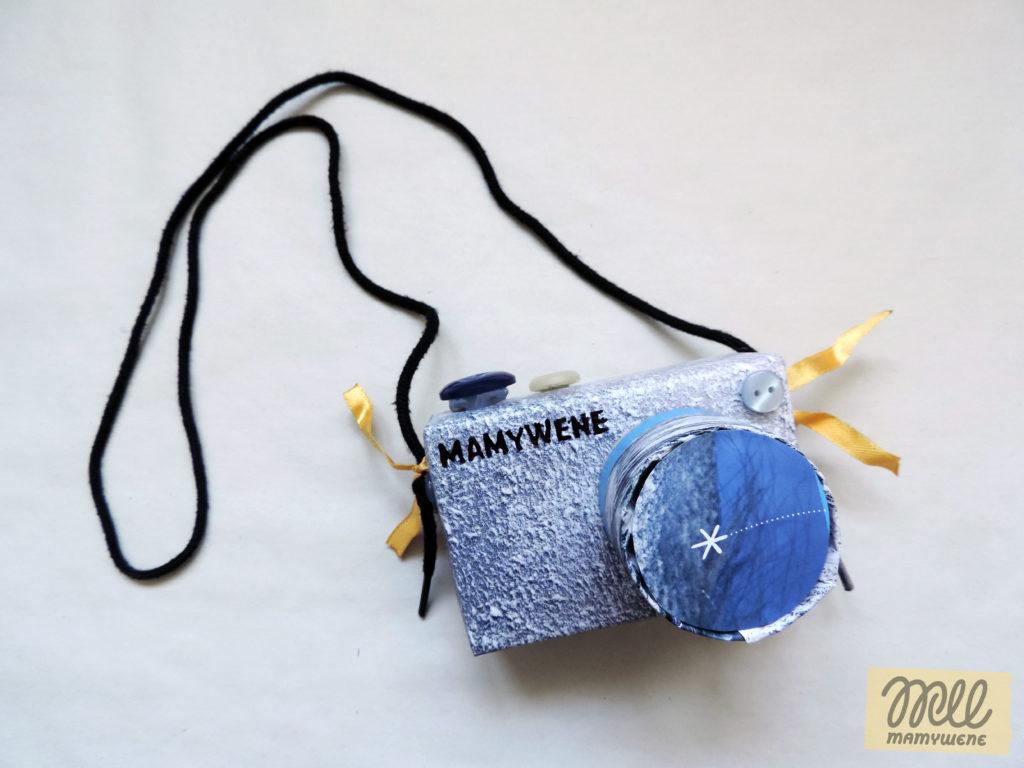 aparat zabawka dla dzieci DIY