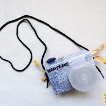 Jak zrobić aparat dla dzieci: tutorial (upcycling)