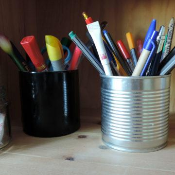 Eko wyposażenie biurka. Inspiracje DIY.