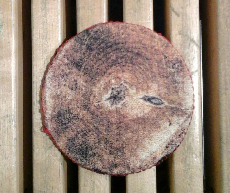 eko podkladka pod kubek drzewo