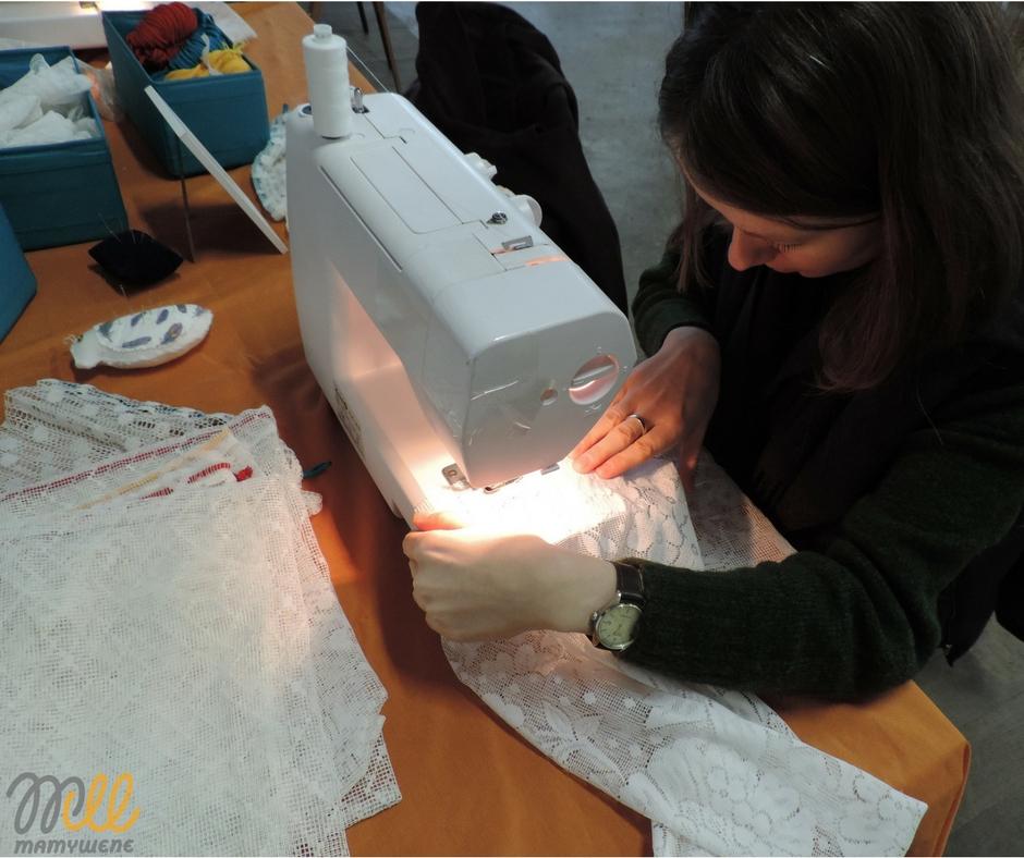szycie na maszynie woreczki ekologiczne