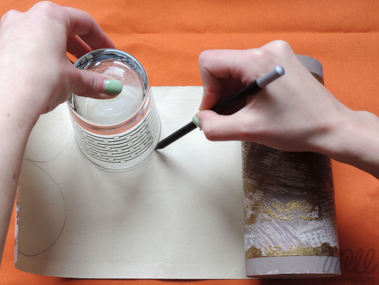 Tutorial: bombka z papieru. Krok 1