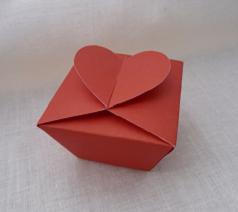 Pudełko od serca – tutorial