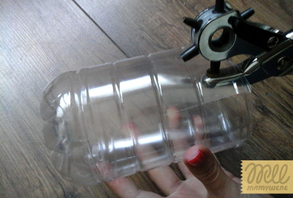 DIY pojemnik z butelki krok 3