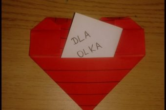 Tutorial- serce z origami