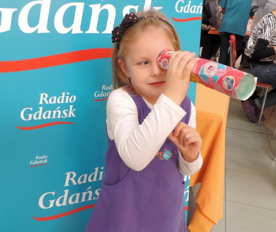 dziewczynka z kalejdoskopem